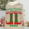 Personalized Santa Sack: Lil' Elf
