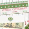 Personalized Snowman Sweater Christmas Money Envelope