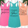 Wine Sayings Racerback Tank Top