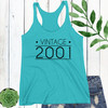 Vintage Year Racerback Tank Top (Any Year!)