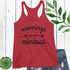 Mornings Are For Mimosas T-Shirt (More Colors!)