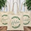 Gold & Greenery Tote Bag