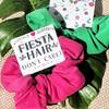 Fiesta Hair Don't Care Hair Scrunchies