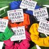 Fiesta Hair Don't Care Hair Scrunchies - Southwest or Mexico Bachelorette Party Favors