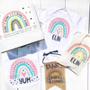 Personalized Mod Rainbow Baby Gift Box