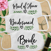 Custom Cotton Face Mask: Lovely Leaf Bridal Party (More Styles!)