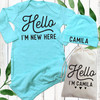 Personalized Hello Baby Gown Set (More Colors!)