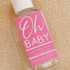 Custom Hand Sanitizer Labels & Bottles: Oh Baby Shower (Gender Neutral)