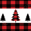 Printable Care Package Sticker Kit: Perfectly Plaid Christmas (Instant Download)