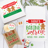 Personalized Gingerbread Baking Crew Christmas Gift Box