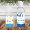 Custom Hand Sanitizer Labels & Bottles: Hanukkah Favorites - Hanukkah Party Favor Bulk Quarantine Favors & Gifts