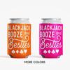 Las Vegas Bachelorette Can Coolers:  Blackjack Booze & Besties