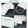 Disposable Face Mask Set: Personalized Hashtag Wedding Masks (More Colors!)