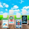 Custom Hand Sanitizer Labels for Kids: Boys Birthday & Party Favorites
