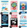 Custom Hand Sanitizer Labels: Boys Birthday & Party Favorites