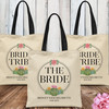 Cactus Bachelorette Party Tote Bags - Bride Tribe Personalized Bridal Party Gift Bag Set