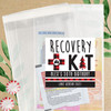 Plaid Birthday Party Hangover Recovery Kit Bags + Labels - Custom Birthday Survival Kits + Favor Stickers