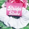 Retro Bride's Babes Hair Scrunchies - 70s Retro Bachelorette Party Favors
