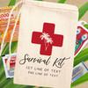 Classic Cross Custom Hangover Survival Kit Bags for Beach Bachelor Party or Birthday