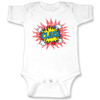 Red Pop Art On White One-Piece (6M or 12M)