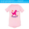 Pink Dino On Pink One-Piece (6M or 12M)
