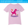 Pink Dino On Pink T-Shirt (18M, 24M, 2T, 4T, 5/6 and Size 7)