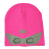 Neon Eaters Super Hero Knit Beanie Pink