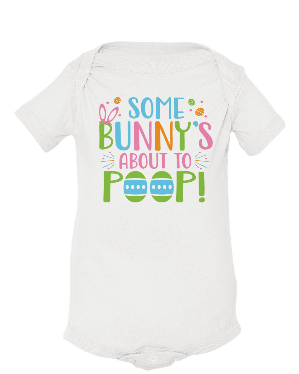 Personalised Name Exited for the Easter Bunny Pyjamas Boys Girls Cute Easter Gif