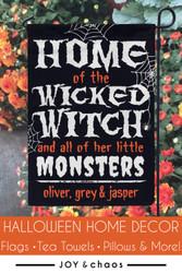 Custom Halloween Home Decor