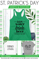 Funny St. Patrick's Day Shirts for Your Brew Crew