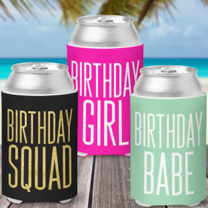 Birthday Party Favor Drinkware