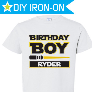 Personalized Kids Birthday Tees