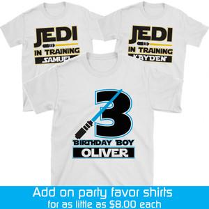 Kids Party Favor T Shirts