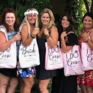 Bachelorette Party Favor Bags and Totes