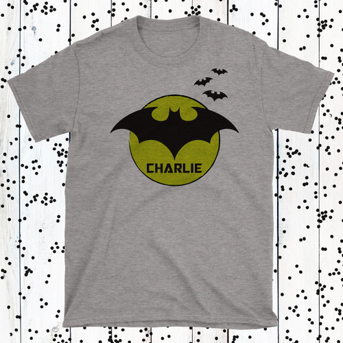 Personalized Bat Spit Crazy T-Shirt