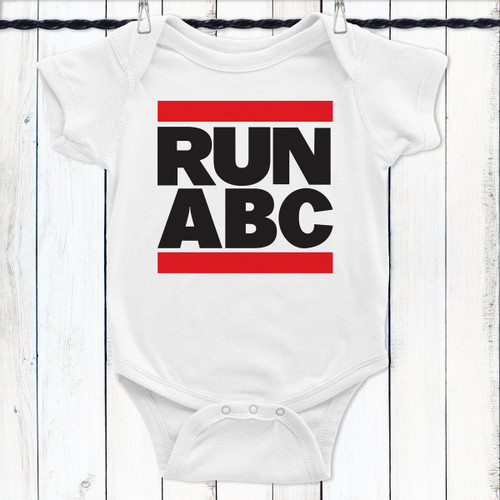 RUN ABC Baby Shirt - RUN DMC Baby Shirt
