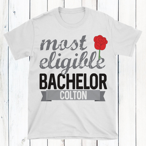 Personalized Most Eligible Bachelor T-Shirt