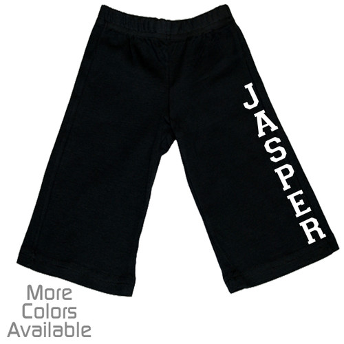 Personalized Sporty Baby Pants
