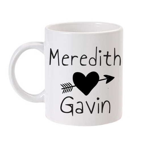 Personalized In Love Mug