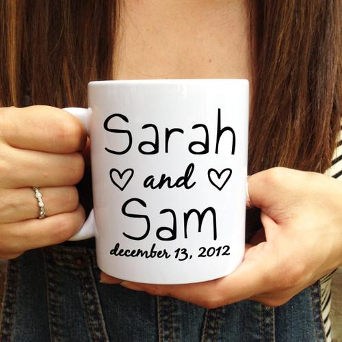 Personalized Love Letter Mug