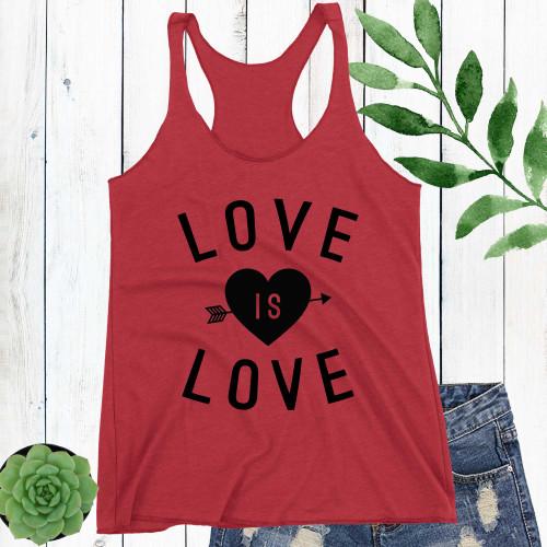 Love Is Love Racerback Tank Top