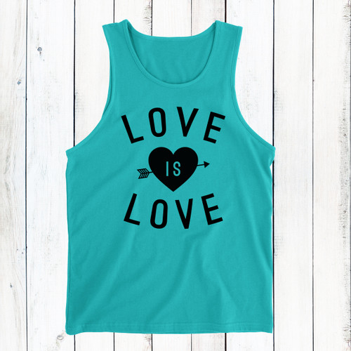 Love Is Love Men's Tank Top