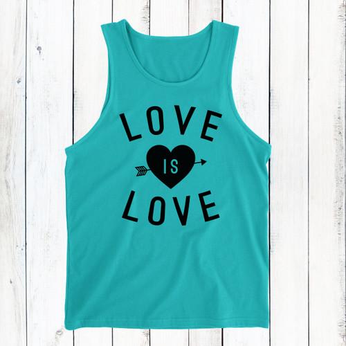 Love Is Love Men's Tank Top