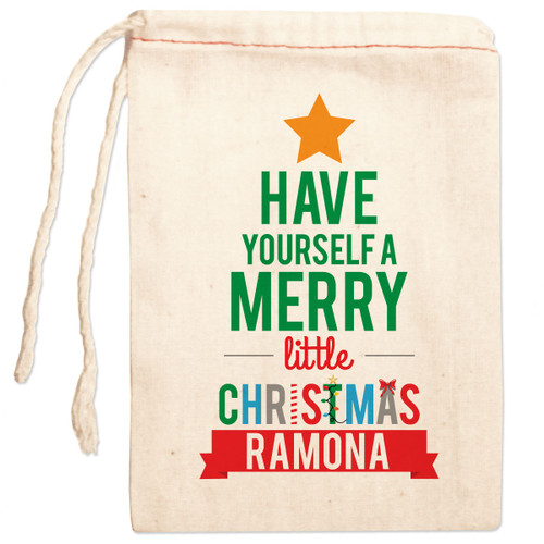 sc 1 st  Psychobaby & Personalized Gift Bag: Very Merry Christmas