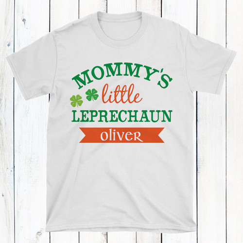 39a31313c Personalized St. Patrick's Day Baby Shirts - Little Leprechaun