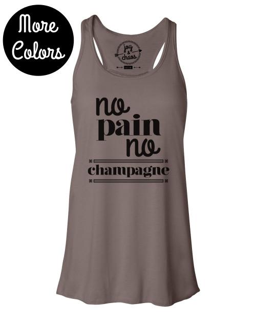 *Sale* No Pain No Champagne Tank