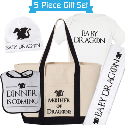 New Mom Gift Set: Mother of Dragons/Game Of Thrones Theme