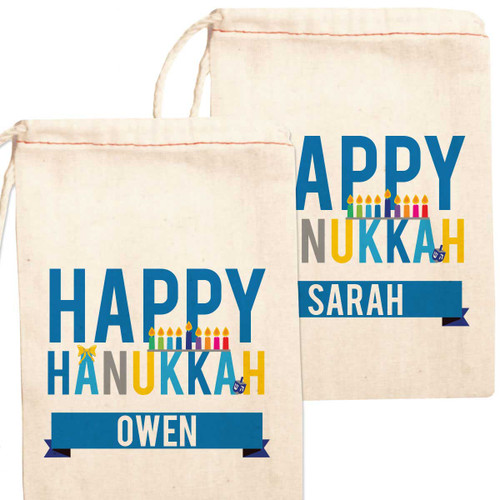 sc 1 st  Psychobaby & Personalized Gift Bag: Happy Hanukkah
