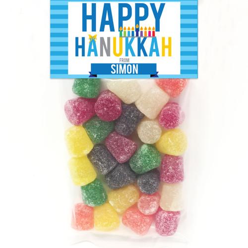 Personalized Hanukkah Favor Bag Kit