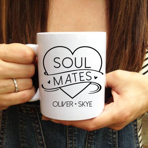 Personalized Soul Mates Mug